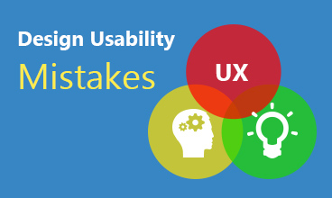 10 Mistakes Done by Professionals in Design Usability