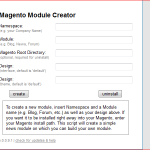 Create Custom Module Using ModuleCreator in Magento