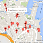 How to get use the nearBy search functionality of google map api v3.